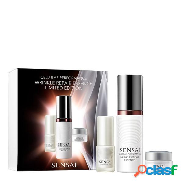 Sensai cosmética facial cellular performance wrinkle repair essence set