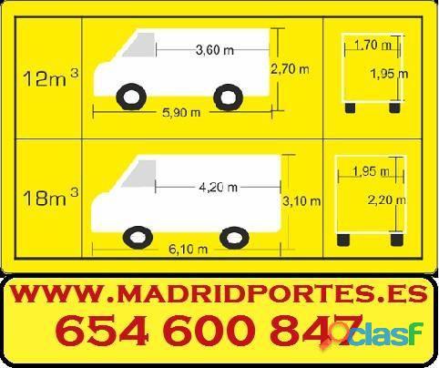 FLETES CHAMBERI CENTRO MADRID PORTES