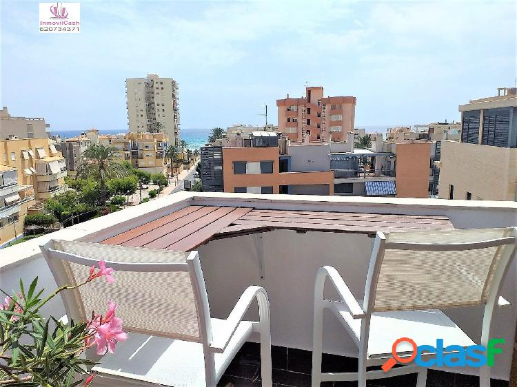 INMOVILCASH VENDE Espectacular Ático en Playa San Juan vistas al mar, urbanización completa 360.000€ 1