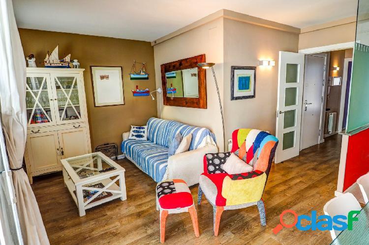 Alquiler de temporada: apartamento de dos habitaciones en san sebastián (sitges)
