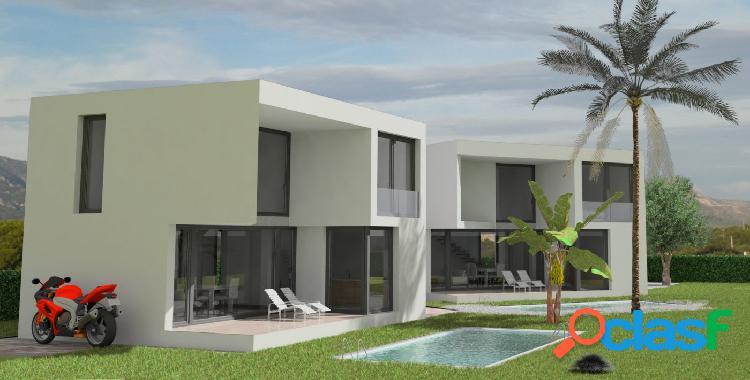 Chalet unifamiliar en construcción de 169,18 M2, con piscina privada 1