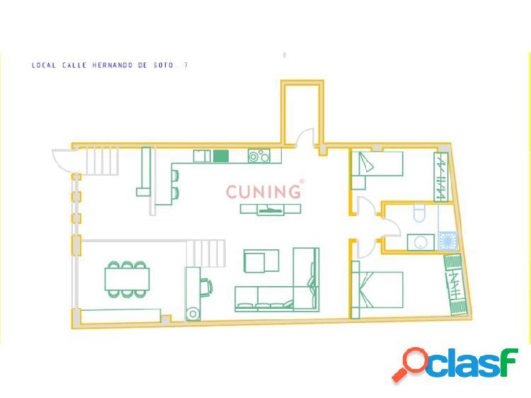 Local - ideal como apartamento en pleno centro de cáceres.