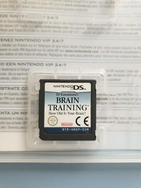 Brain training juego nintendo ds