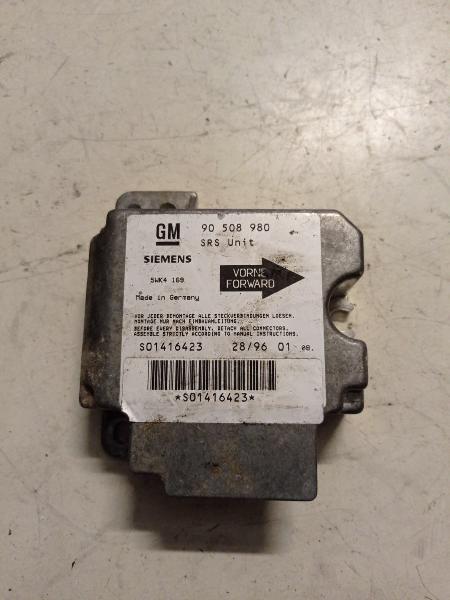 Centralita airbag opel vectra 1.6 16v año 2000