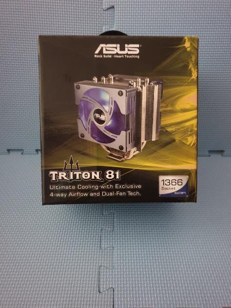 Disipador cpu asus triton 81 para socket 1366 y 7