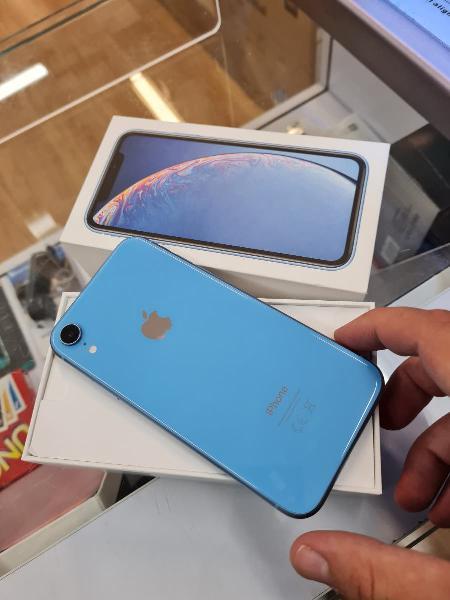 Iphone xr azul 64 gb original
