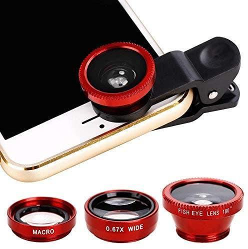 Lente portatil para la cámara del móvil