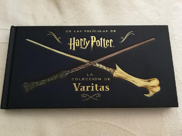 Libro la colección de varitas. harry potter