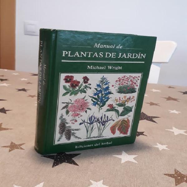 Libro manual de plantas de jardín