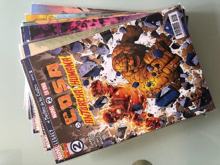 Marvel 2 en 1 completa la cosa la antorcha humana
