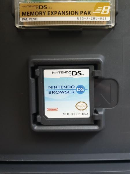 Nintendo ds browser para nintendo ds lite