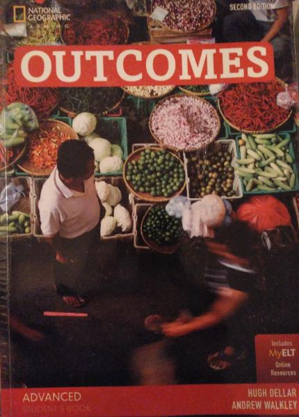 Outcomes. libros de texto de inglés