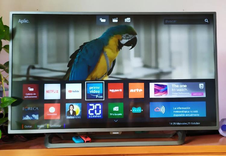"Smart tv phillips 43"" ambilight"