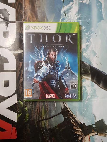 Thor dios del trueno xbox 360