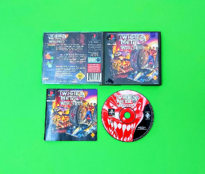 Twisted metal: world tour (leer descripción) / ps1
