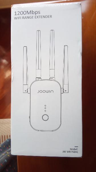 Wifi repetidor 1200mbps 2.4 ghz y 5ghz amplificado