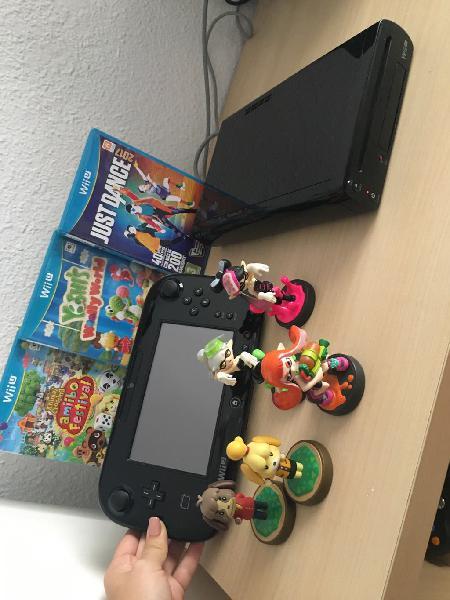 Wii u , juegos y figuras