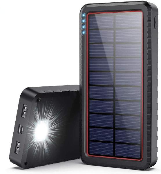 Bateria externa solar