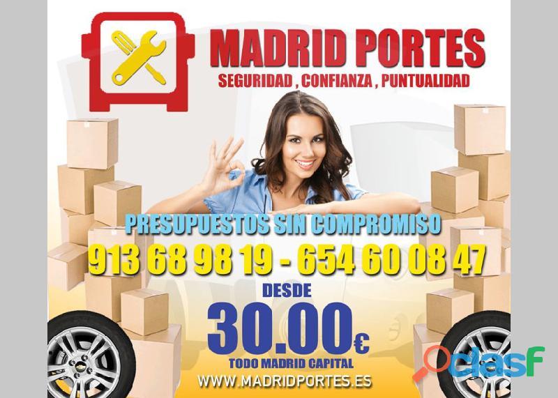 EFICACIA Y RAPIDEZ MADRID PORTES