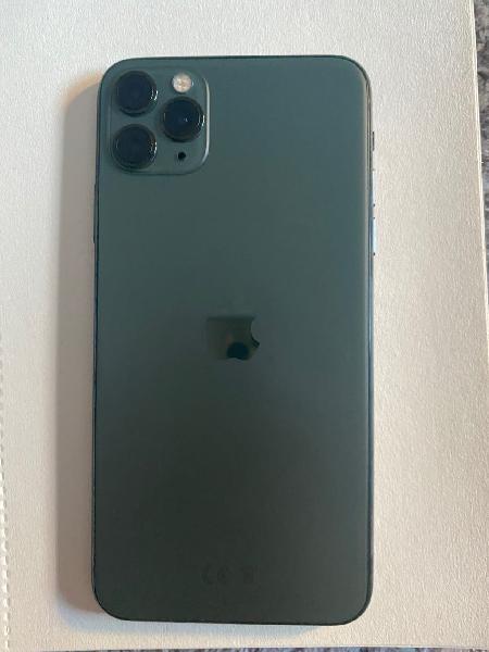Iphone 11 pro max 256gb color verde