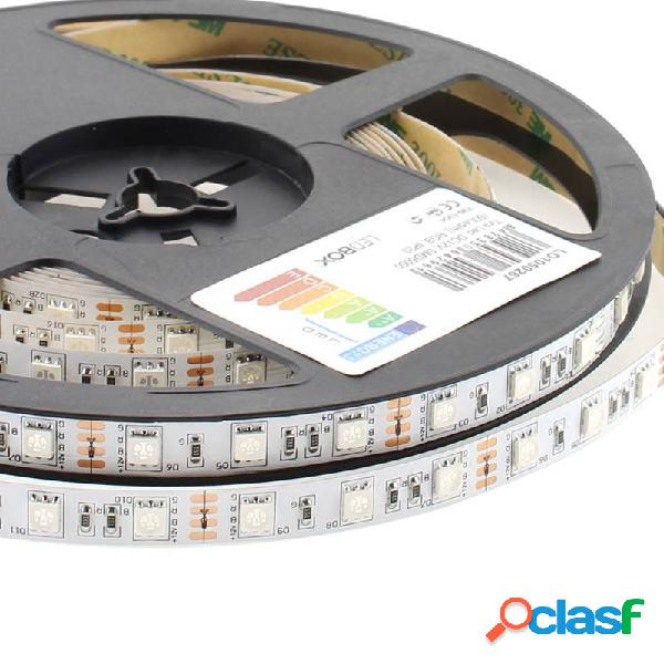 Tira led epistar smd5050 rgb dc12v 5m (60led/m) - ip20 rgb