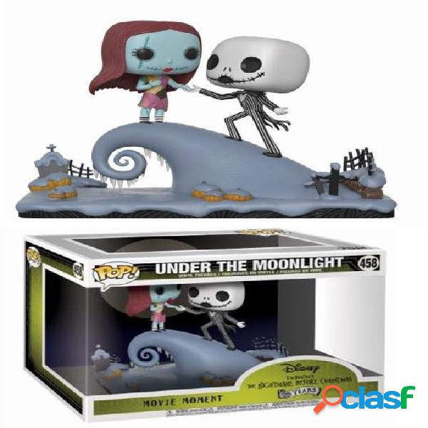Figura funko pop movie moment: jack and sally en la colina
