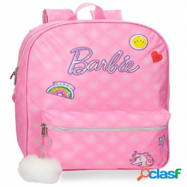 Mochila barbie adaptable a carro 42cm