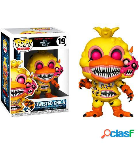 Figura funko pop twisted chica five nights at freddy's