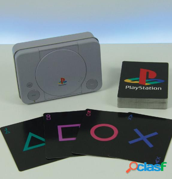 Baraja de cartas play station
