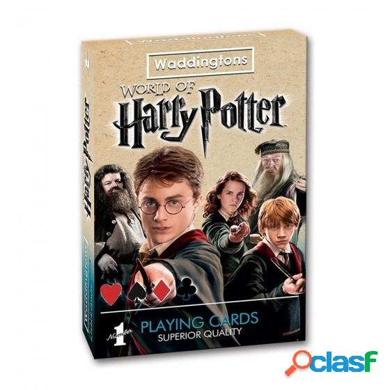 Baraja cartas de poker harry potter