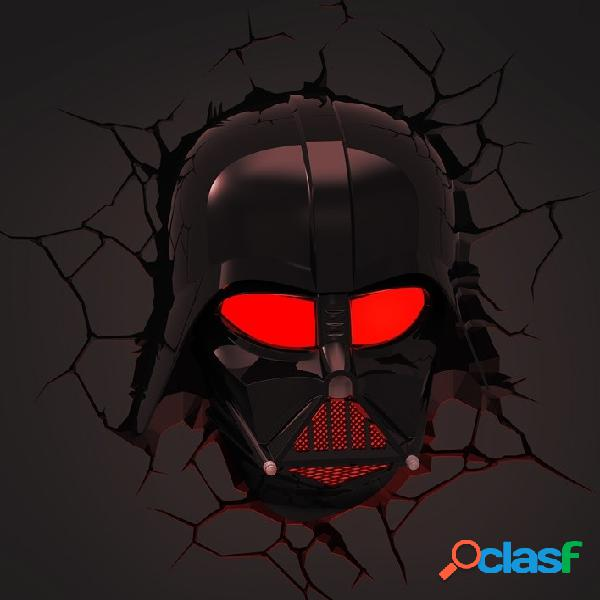 Lampara de pared darth vader star wars