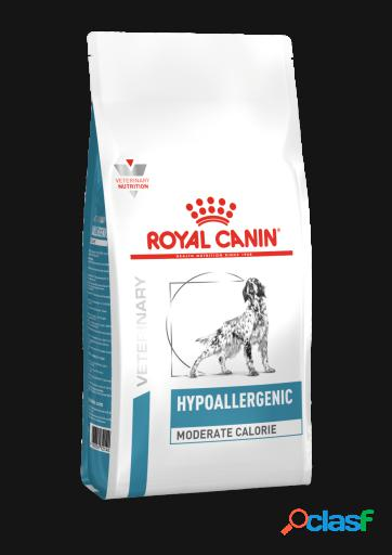 Royal canin pienso hypoallergenic moderate calorie canine 14 kg