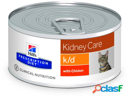 Hill's prescription diet feline k/d húmedo 156 gr