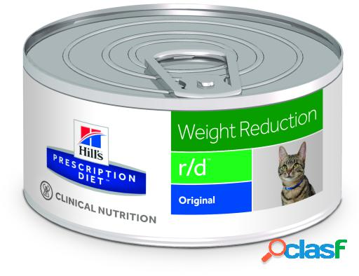 Hill's prescription diet feline r/d húmedo 156 gr