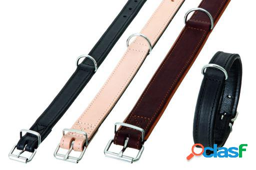 Karlie flamingo rondo collar marron, 32 mm 57 cm cosida