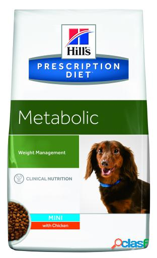 Hill's metabolic mini weight management 6 kg