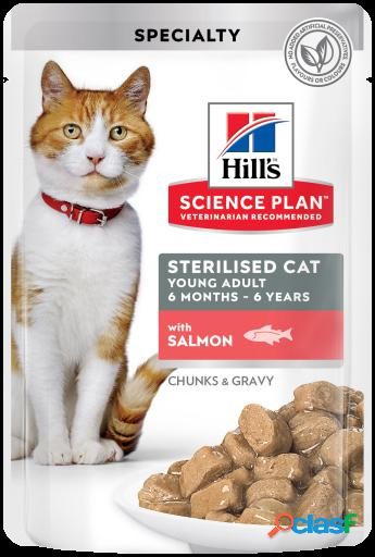 Hill's Science Plan Esterilizado de Salmón 12x85 gr