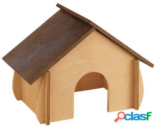 Ferplast sin 4649 wooden house co 32.6x17.3x22 cm