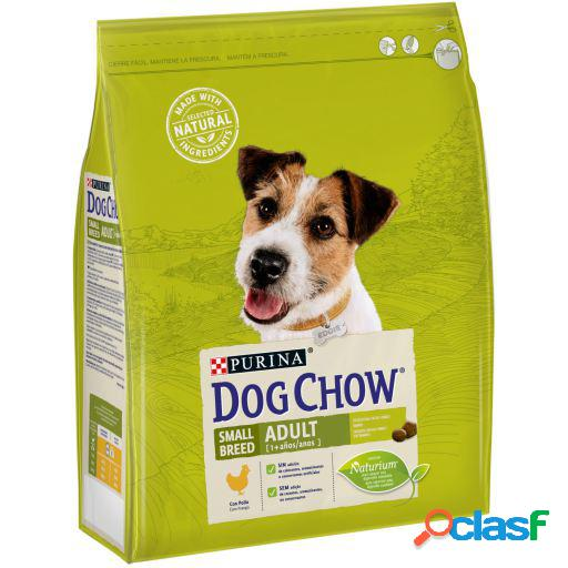 Dog chow adult small breed razas pequeñas adulto con pollo 2.5 kg