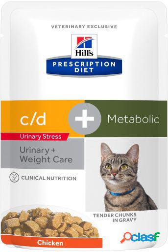 Hill's prescription diet feline c/d urinary stress + metabolic 85 gr
