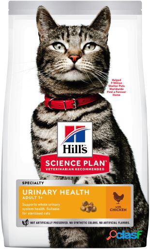 Hill's science plan esterilizado urinario de pollo 1.5 kg