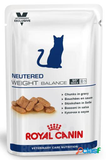 Royal canin comida húmeda neutered weight balance feline 12x100 gr