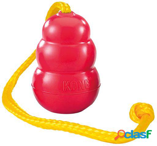 Kong juguete perro classic with rope l