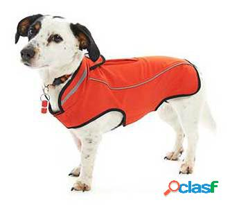 Kruuse impermeable para perros buster rojo s-m