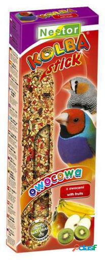 Tyrol stick for exotic birds with fruits 100 gr