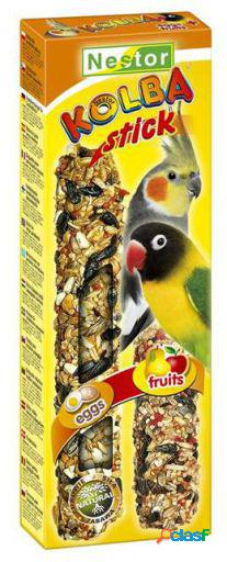 "Tyrol sticks ""2in1"" for large parakeets biscuits and honey 76 gr"