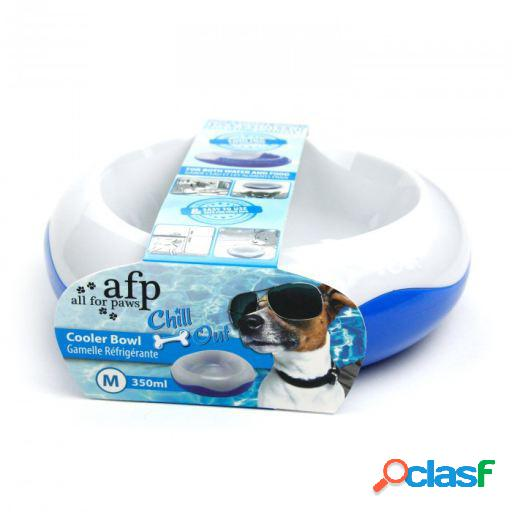 Afp bebedero/comedero refrescante chill out m-350ml 900 gr