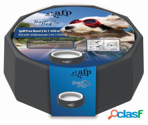 Afp comedero travel dog 2en1 650ml 533 gr