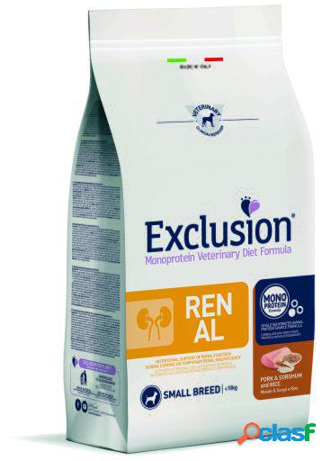 Exclusion diet formula renal pork & sorghum and rice small 2 kg