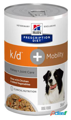 Hill's Prescription Diet Canine K/d+ Mobility Pollo y Verduras 340 GR 0